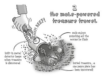 mole-trowel